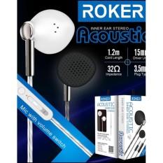 Headset Roker RK29K Acoustic handsfree earphone bass with mic