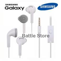 Headset Samsung Compatible for Samsung All Type Handsfree Headphones Bass Audio High Qualty 3.5mm Jack - Putih