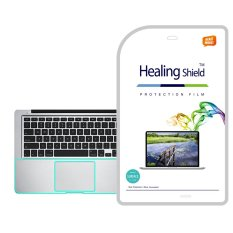 Healingshield Apple MacBook Pro 13 Retina Haswell Palmrest/Touchpad Pelindung Permukaan Kulit 2 Pcs