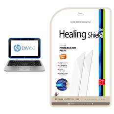 HealingShield HP ENVY X2 Biru-Lampu Type Screen Protector 1 Pcs + TOP Pelindung Permukaan Kulit 2 Pcs