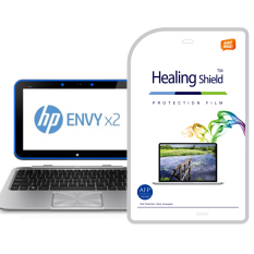 HealingShield HP ENVY X2 Clear Type Screen Protector 1 Pcs + TOP Pelindung Permukaan Kulit 2 Pcs
