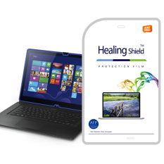 HealingShield SONY VAIO FIT 15A Multi Flip PC SVF15N Clear Type Screen Protector 1 Pcs + TOP Pelindung Permukaan Kulit 2 Pcs