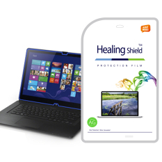 HealingShield SONY VAIO FIT 15A Multi Flip PC SVF15N Matte Type Screen Protector 1 Pcs + TOP Pelindung Permukaan Kulit 2 Pcs