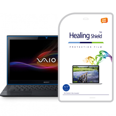 HealingShield SONY VAIO Pro 13 Clear Type Screen Protector 1 Pcs + TOP Pelindung Permukaan Kulit 2 Pcs