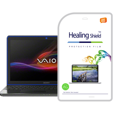 HealingShield Sony Vaio SVF15A Matte Type Screen Protector 1pcs + TOP Surface Protector Skin 2pcs