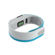 Heart Rate Smart Bracelet Wristband. Bluetooth IP54 WaterproofSports Activity Intelligence Sleep Monitor Pedometer FitnessTracker Smart Watch for IOS and Android(Blue) - intl