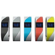 Heart Rate Smart Bracelet Wristband. Bluetooth IP54WaterproofSports Activity Intelligence Sleep Monitor PedometerFitnessTracker - intl