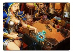 Hearthstone Mousepad Cantik Gaming mouse Pad Colorful Gamer mouse Mat Pad Permainan Komputer Meja Padmouse Keyboard Play Mats