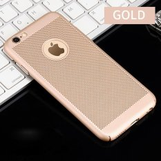 Disipasi Panas Hollowed-keluar Grid Phone Case Hard PC Ultra Tipis Pelindung Back Cover Shell untuk IPhone 6 6 S Case 4.7 Inch-Intl