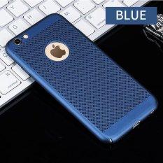 Disipasi Panas Hollowed-Keluar Sarung Telepon Genggam Hard Pc Pelindung Ultra Tipis Kembali Kulit Penutup untuk Iphone 6 6 S Plus 5.5 Inch-Intl