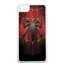 Heavencase Blackberry Z10 Hard Case Spiderman 01 - Putih