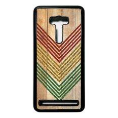 Heavencase Case Casing Asus Zenfone Selfie ZD551KL Hardcase Batik Kayu Chevron 09 - HitamIDR135000. Rp