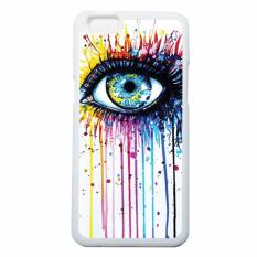 Tips Beli Heavencase Case Casing Oppo F3 Plus Oppo R9S Plus Case Putih Motif Unik Melting Eyes Yang Bagus