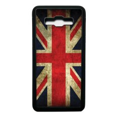Promo Heavencase Case Casing Samsung Galaxy J5 2016 Softcase Bumper Motif Bendera Inggris Hitam Heavencase