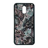 Toko Heavencase Case Casing Samsung Galaxy J7 Plus Case Softcase Hitam Motif Batik Bunga 14 Murah Di Indonesia