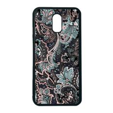 Harga Heavencase Case Casing Samsung Galaxy J7 Plus Case Softcase Hitam Motif Batik Bunga 14