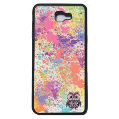 Beli Heavencase Case Casing Samsung Galaxy J7 Prime Case Softcase Bumper Motif Unik Owl Paint Hitam Terbaru