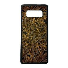 Beli Heavencase Case Casing Samsung Galaxy Note 8 Case Softcase Hitam Motif Batik Bunga 18 Murah Di Indonesia