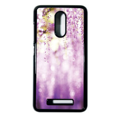 Heavencase Case Casing Xiaomi Redmi Note 3 Case Hardcase Batik Kayu Bokeh 10 - Hitam