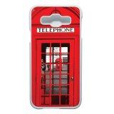Beli Heavencase Casing Samsung Galaxy E5 Case Hardcase Motif Unik Red Telephone Box Putih Murah