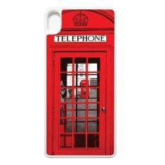 Beli Heavencase Casing Sony Xperia Xa Or Xa Dual Softcase Bumper Motif Red Phone Box Putih Seken