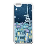 Situs Review Heavencase Eiffel Tower Art Rubber Soft Case For Iphone 6 Case Putih