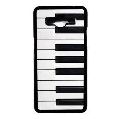 Heavencase Hard Case Piano Keyboard 02 for Samsung Galaxy Grand Prime - Hitam