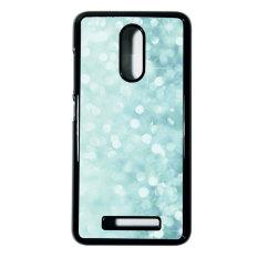 Heavencase Hard Case Xiaomi Redmi Note 3 Motif Batik Kayu Bokeh 02 Casing Cover - Hitam