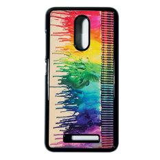Heavencase Hard Case Xiaomi Redmi Note 3 Motif Batik Kayu Bokeh 08 Casing Cover - Hitam
