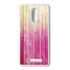 Heavencase Hard Case Xiaomi Redmi Note 3 Motif Batik Kayu Bokeh 09 Casing Cover - Putih