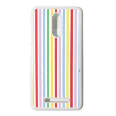 Heavencase Hard Case Xiaomi Redmi Note 3 Motif Batik Kayu Bokeh 15 Casing Cover - Putih