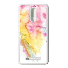 Heavencase Hard Case Xiaomi Redmi Note 3 Motif Batik Kayu Bokeh 16 Casing Cover - Putih
