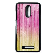 Heavencase Hard Case Xiaomi Redmi Note 3 Motif Batik Kayu Bokeh 18 Casing Cover - Hitam