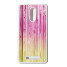 Heavencase Hard Case Xiaomi Redmi Note 3 Motif Batik Kayu Bokeh 18 Casing Cover - Putih