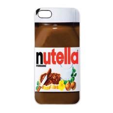 Heavencase iPhone 5/5s Rubber/Soft Case Nutella - Putih