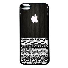Jual Heavencase Iphone 5C Hard Case Apple Logo 17 Hitam Branded Murah