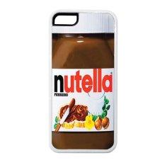 Heavencase Iphone 5c Rubber/Soft Case Nutella - Putih