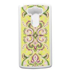 Heavencase LG G3 Hard Case Pattern Aztec Tribal 15 - Putih
