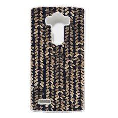Heavencase LG G4 Hard Case Pattern Aztec Tribal 17 - Putih