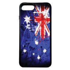 Heavencase Soft Case for Iphone 7+ Plus Motif Bendera Australia 11 - Hitam