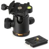 Jual Heavy Duty Ball Quick Release Plate Untuk Monopod Tripod Slider Rail Kamera Canon Nikon Pentax Hitam Original