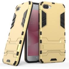 Jual Tugas Berat Dual Layer Drop Protection Shockproof Armor Hybrid Steel Style Cover Pelindung Case Dengan Self Stand Untuk Asus Zenfone 4 Max Pro Zc554Kl Intl Di Tiongkok