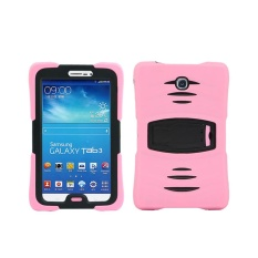 Heavy Duty Hybrid Case Cove For Samsung Galaxy Tab 3 7.0' 7' Tablet P3200 PK - intl