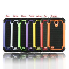 Tugas Berat Impact Hard Case Cover untuk Samsung Galaxy S4 S IV Mini I9190 Orange-Intl