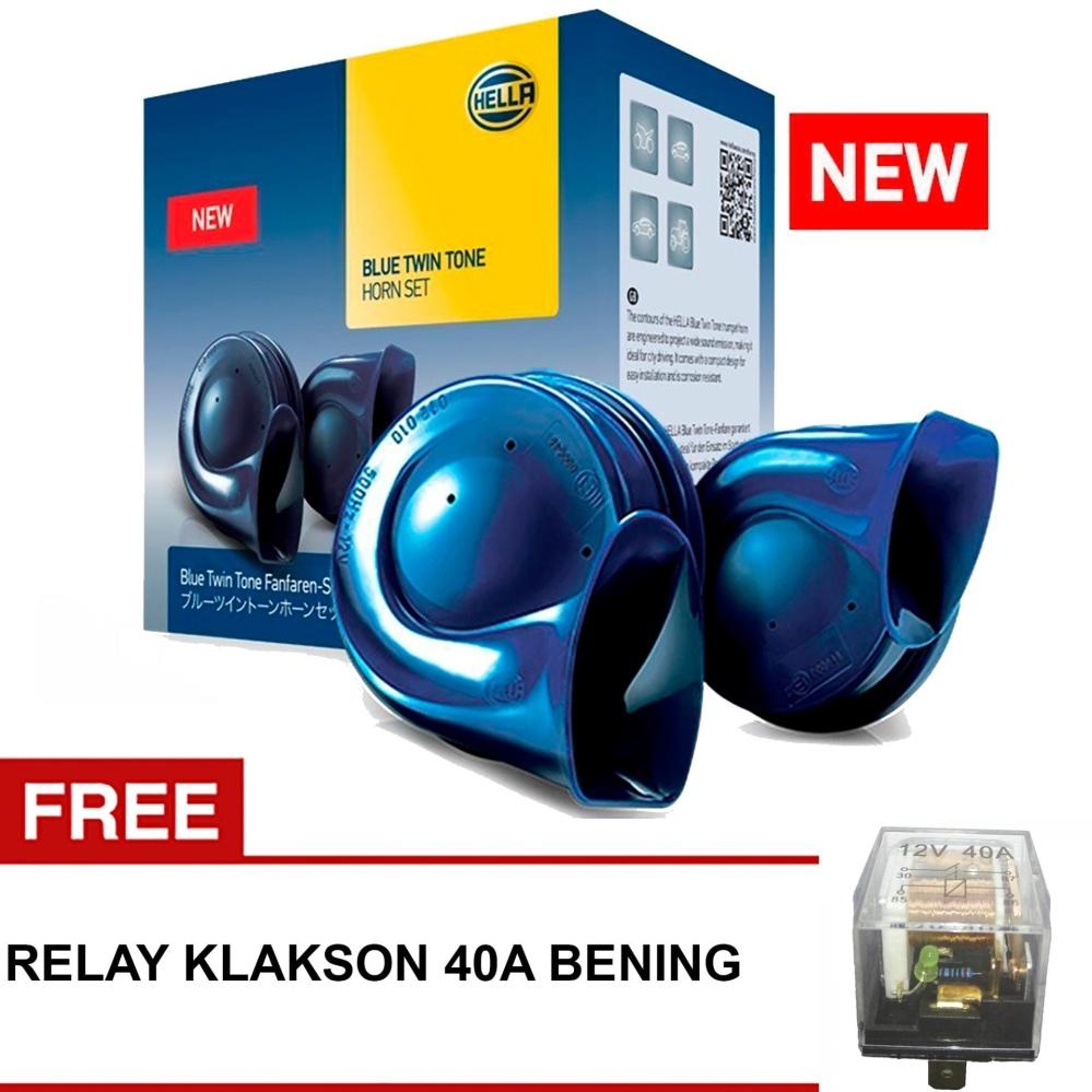 Beli Hella Klakson Blue Twin Tone Original Tipe Style Range Gratis Relay Klakson Bening Cicil