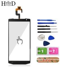 HelloWZXD 5.5 ''Untuk Oukitel K10000 Layar Sentuh Kaca Depan Kaca Digitizer Panel Lens Sensor FLEX Kabel ALAT + Perekat Hadiah-Intl