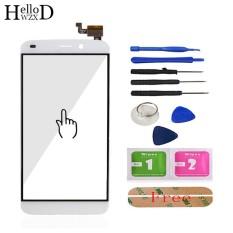 HelloWZXD 5.5 ''Untuk Oukitel U10 Touch Screen Glass Diuji Kaca Depan Digitizer Panel Lens Sensor Alat + Perekat Hadiah -Intl