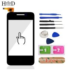 HelloWZXD Depan Mobil Touch Screen High untuk Huawei Ascend Y220 Y220T Y220U Y220C Touch Glass Lens Sensor Digitizer Panel Flex Kabel Free Adhesive + Alat Gratis-Intl