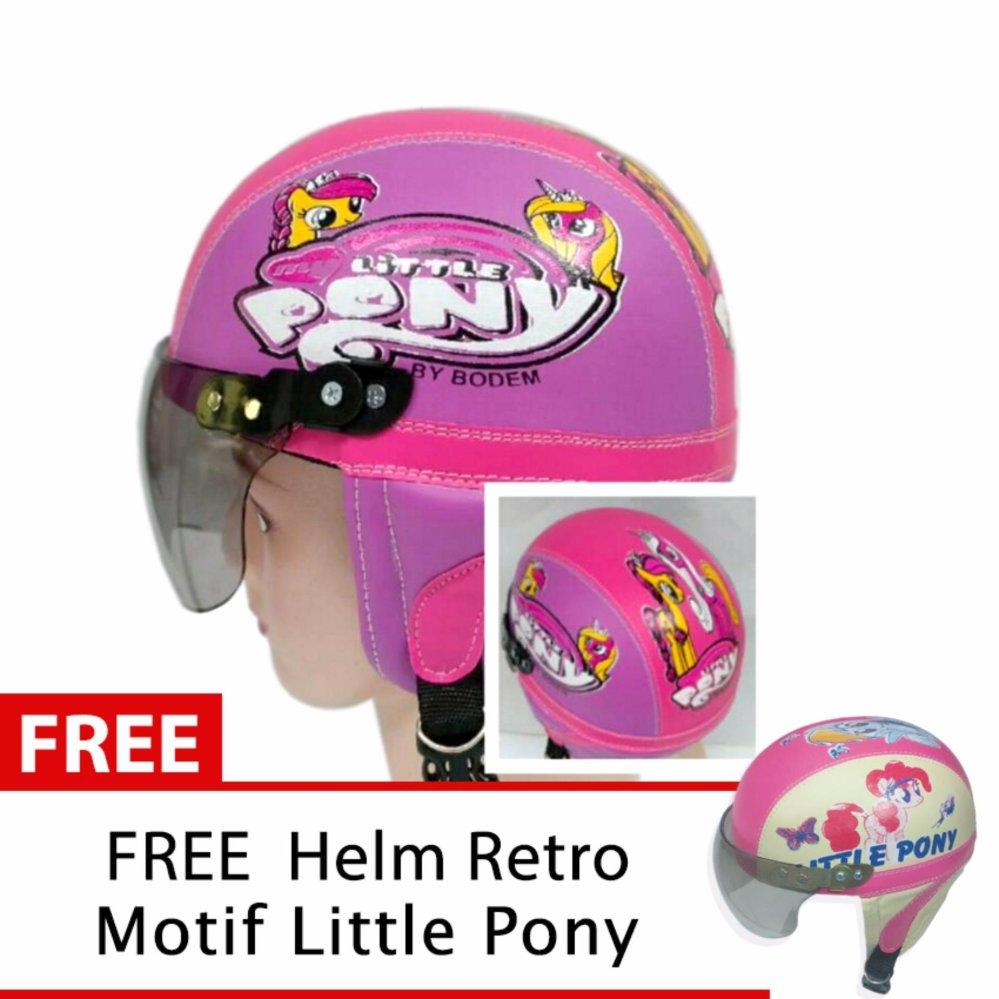 Cara Beli Helm Anak Unyu Unyu Usia 1 5 Tahun Motif Litlle Pony Pink Ungu Free Motif Litle Pony