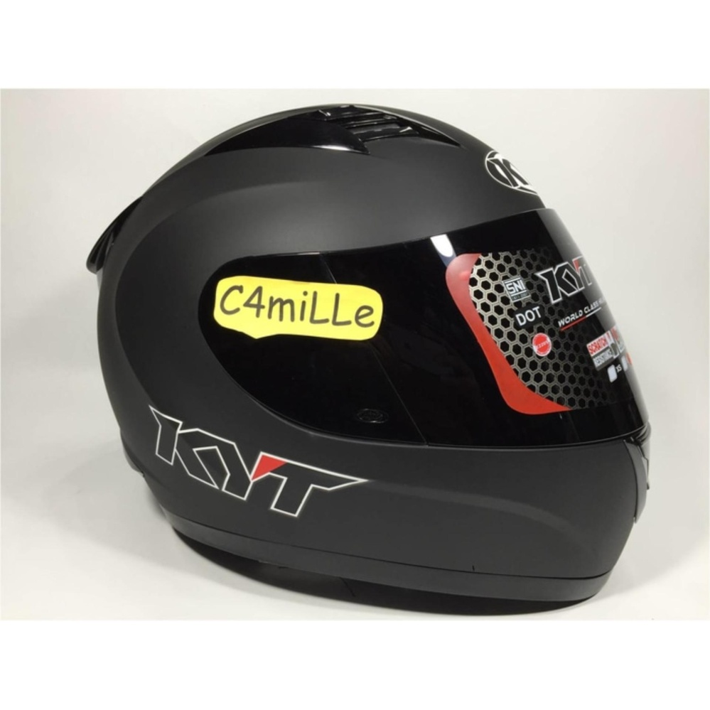 Jual Helm Kyt R10 R 10 Black Doff Full Face Kyt Original